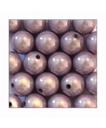 Perles magiques 12mm lilas x20