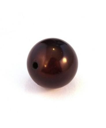 perle magique marron 18mm