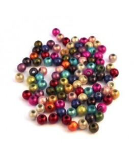 perles magiques 4mm assortiment x100