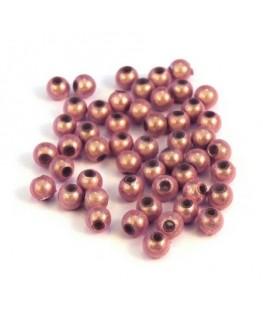 Perle magique 4mm rose x50
