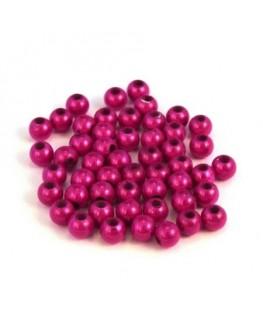Perle magique 4mm fuchsia x50