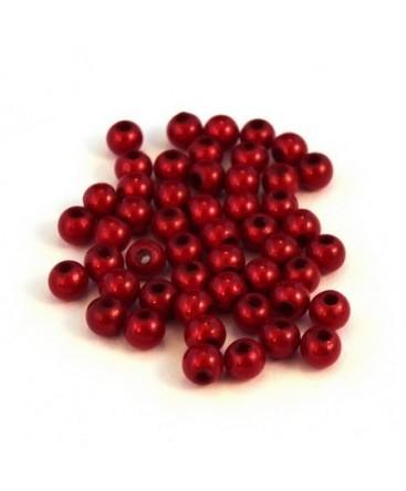 Perle magique 4mm rouge x50