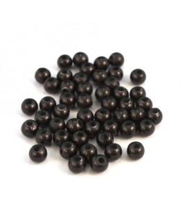 Perle magique 4mm gris noir x50