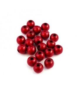 Perle magique 6mm rouge x20