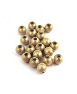 Perle magique 6mm ivoire x20