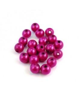Perle magique 6mm fuchsia x20