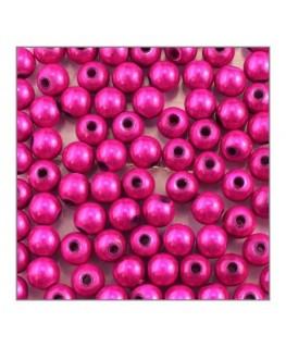 Perle magique 6mm fuchsia x100