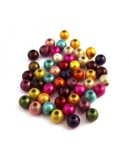Perle magique 6mm assortiment x50