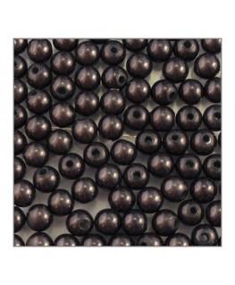 Perle magique 6mm gris noir x100
