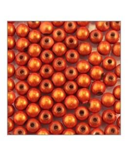 Perle magique 6mm orange x100