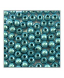 Perle magique 6mm turquoise x100