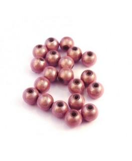 Perle magique 6mm rose x20