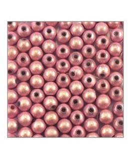 Perle magique 6mm rose x100