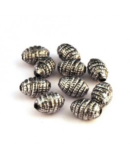 Perle CCB olive motif corde x25