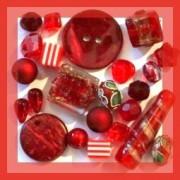 Perles Rouges - Vente de Perles, Apprêts et Accessoires Bijoux sur Perlasara