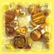 Vente de perles jaunes sur Perlasara Perles et Loisirs