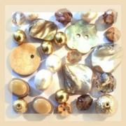 Perles couleur beige et ivoire sur Perlasara Perles et Loisirs