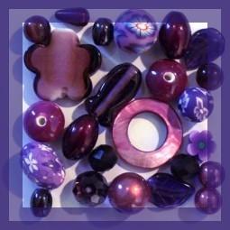Acheter Perles Violettes sur Perlasara Perles et Loisirs