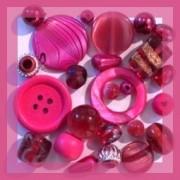 Perles Roses - Perles et Accessoires Bijoux sur Perlasara Perles et Loisirs