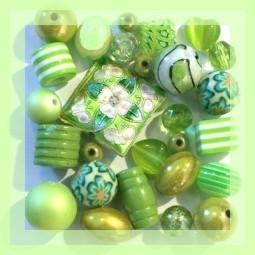 Sélection Perles Vertes sur Perlasara - Magasin de Perles et Accessoires Bijoux