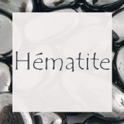 Perles Hématite - Perles Semi-Précieuses