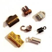 Perlasara Apprêts pour Bijoux - Caches noeuds et Embouts