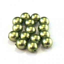 Perles Nacrées en verre 4mm sur Perlasara Perles et Loisirs