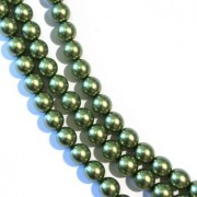 Des Perles en Verre Nacré 8mm chez Perlasara Perles & Loisirs
