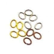 Anneaux ovales pour bijoux - Perlasara Perles & Loisirs