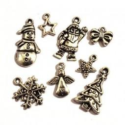 Vente de Perles et Breloques de Noël