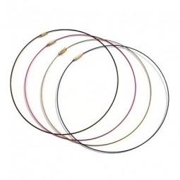 Tours de Cou Câble et Bracelets Câble