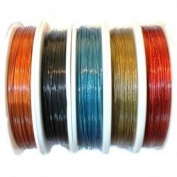Fil câblé pour bijoux 0,38mm