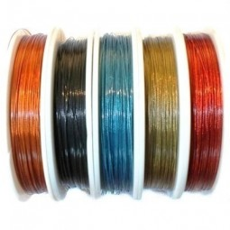 Fil câblé pour bijoux 0,45mm