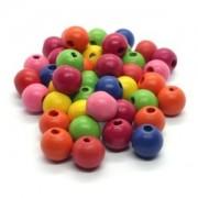 Vente de Perles en Bois Peint