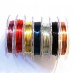 Fil métal pour perles et bijoux