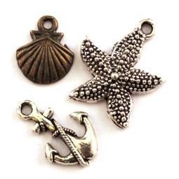 Breloque nautique - Breloques thème mer et plage