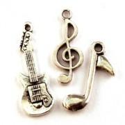 Breloque Musique pour Bijoux