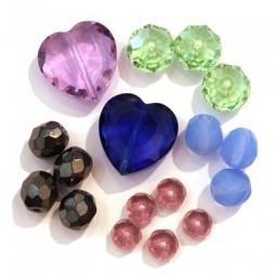 Perles à Facettes et Perles Toupies