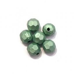 Perles à Facettes Synthétiques