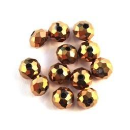 Perles rondelles à facettes