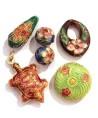 Perles Cloisonnées Artisanales