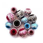 Perles en Aluminium Coloré
