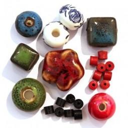 Perles Céramique et Porcelaine