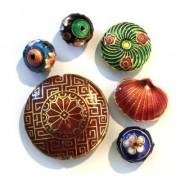 Perles Cloisonnées Formes Diverses
