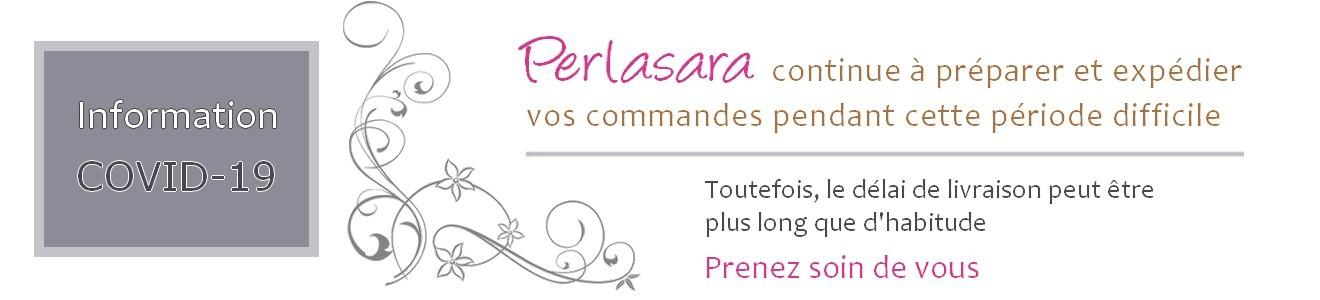 Perlasara reste ouvert - vente de perles et apprêts