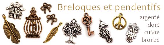 Breloques et pendentifs pour bijoux